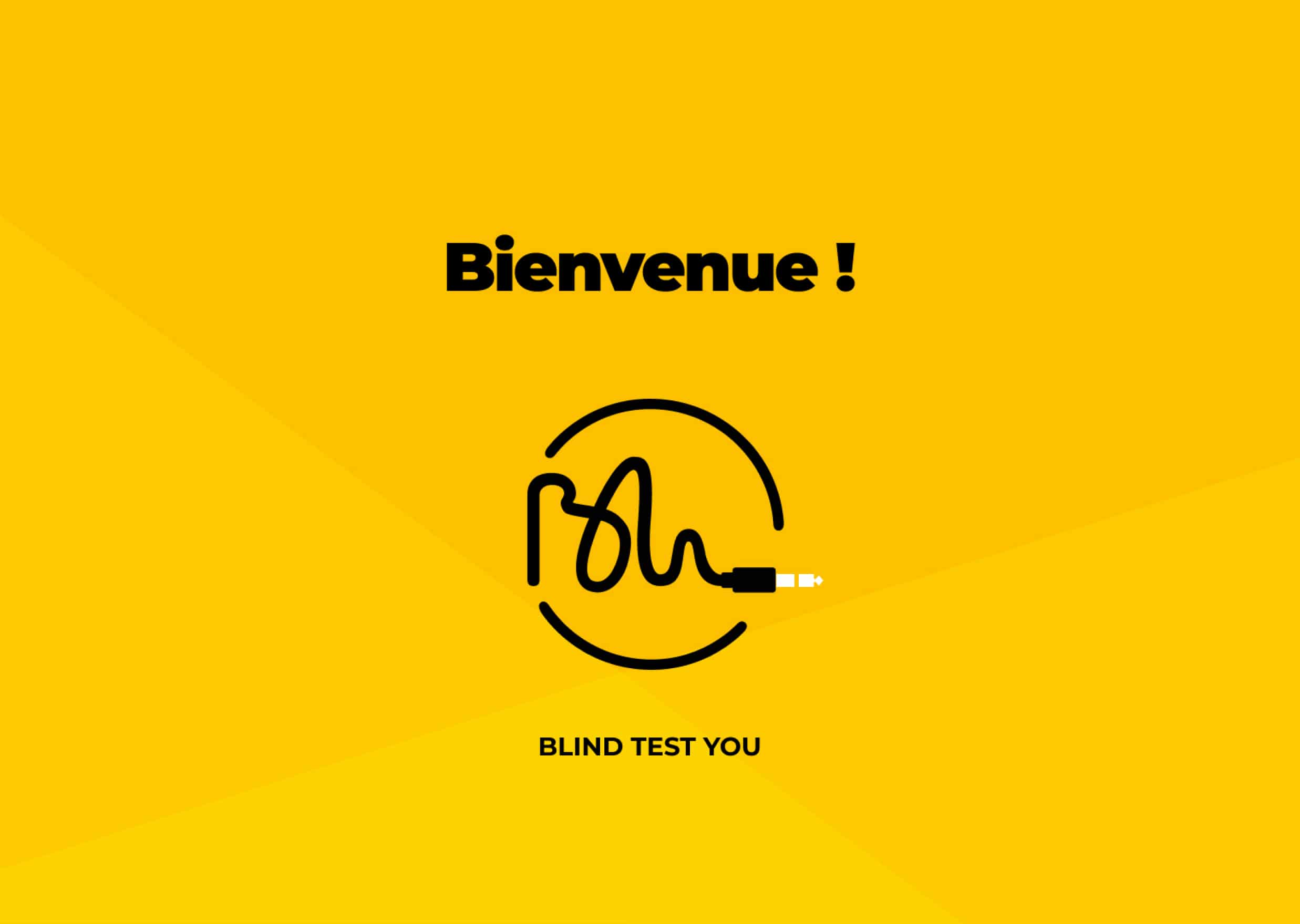 Galerie du projet Blind Test You